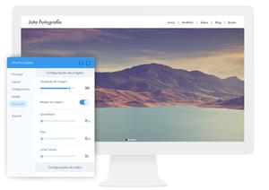Wix Pro Gallery é a melhor solução para otimizar as imagens de seu site