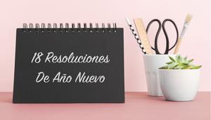 18 Propósitos de año nuevo para tu negocio