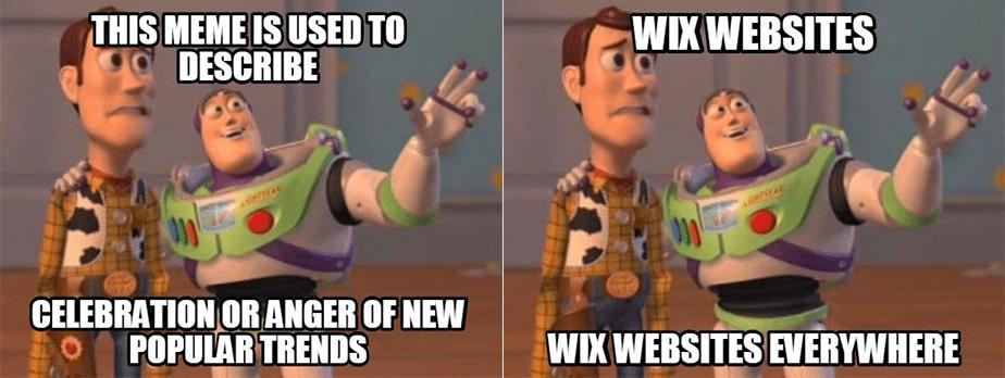 X, X Everywhere Meme