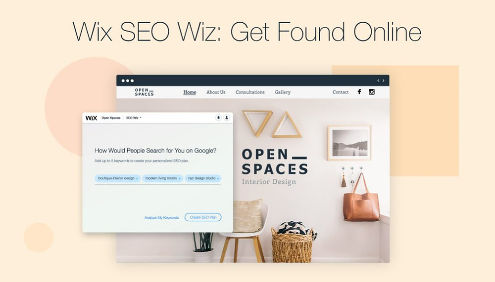 Rank higher on Google with Wix SEO Wiz
