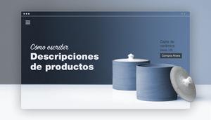 Páginas de descripciones de productos