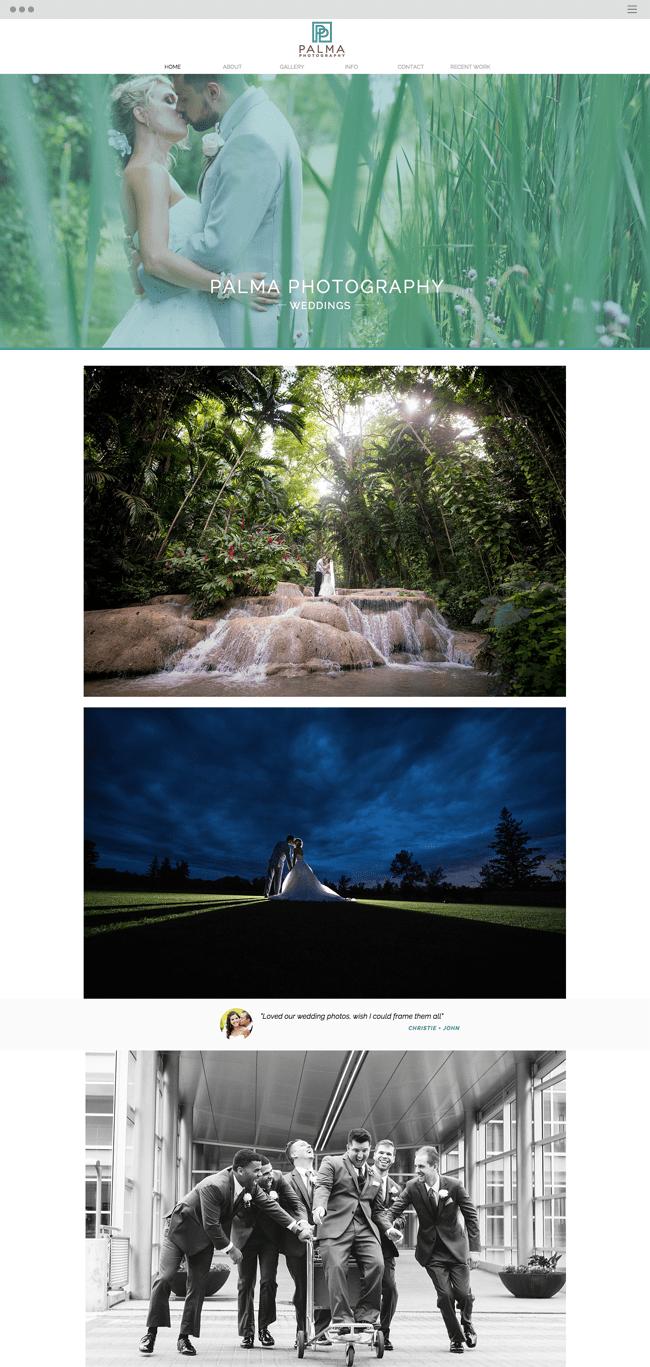 Palma Photography Weddings Home_image