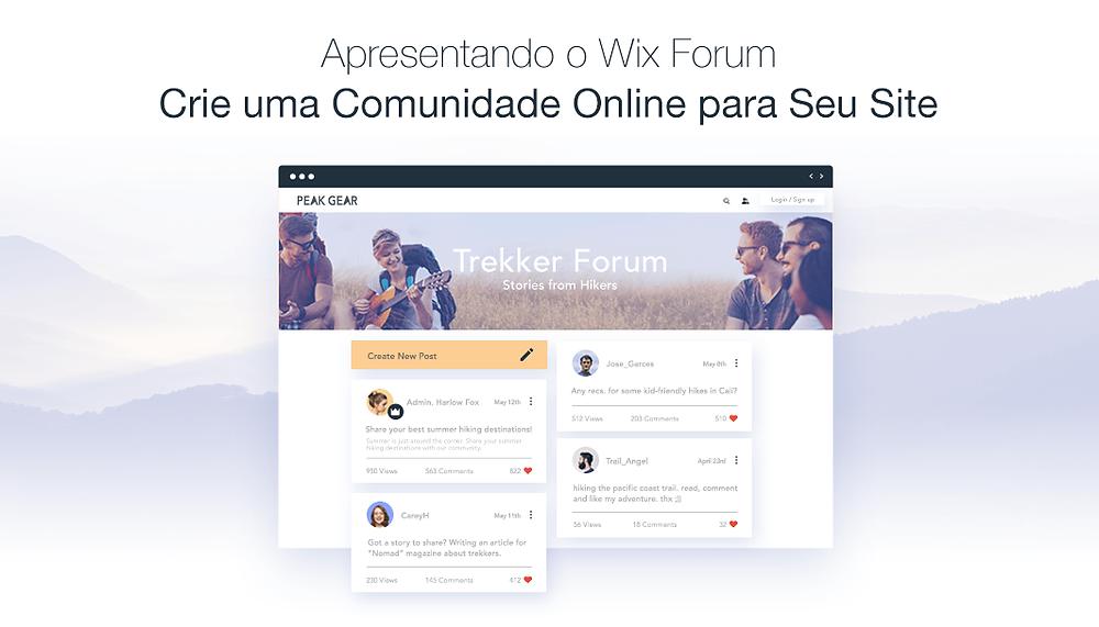 Aumente Facilmente Sua Comunidade com Wix Forum