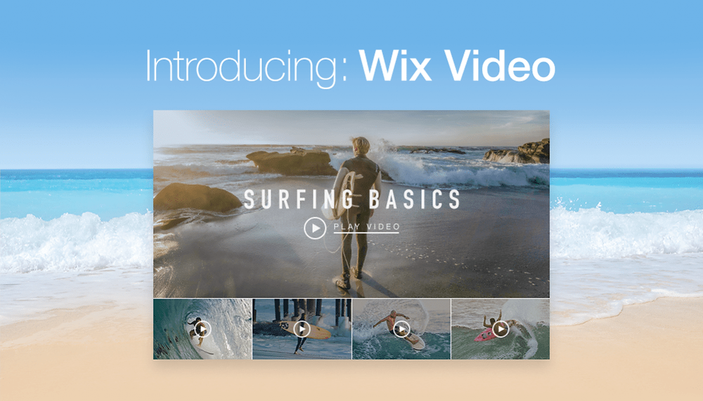 Introducing Wix Video, the best tool for videographers and photographers