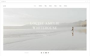 Site Wix de Louise Amelie Whitehouse