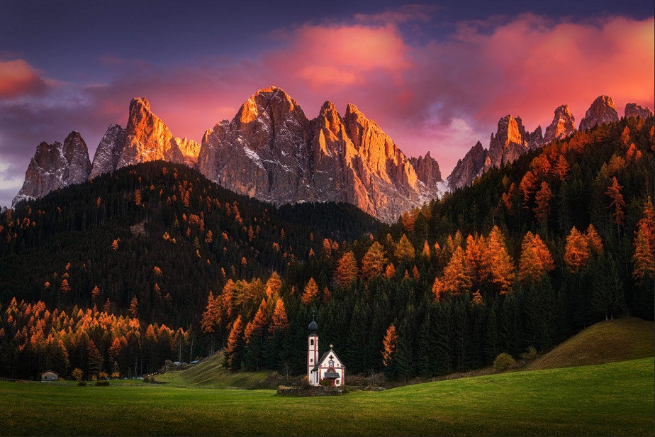 Autumn Faith, por Albert Dros