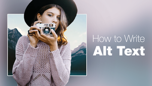 Article about how to write alt text