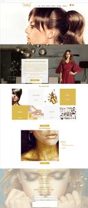 Site com Wix Bookings: Samarz Beauty Lounge