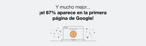 67% llegaron a la 1ª página de Google