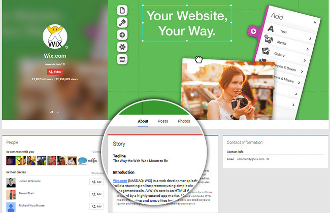 Optimize Your Page Info