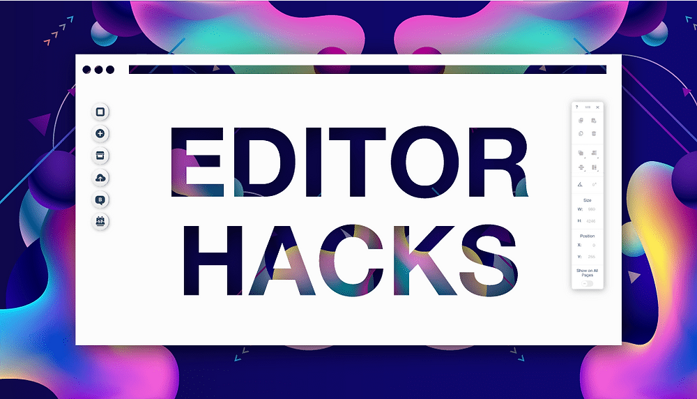 7 Hidden Wix Editor Hacks That Will Amp-Up Your Website
