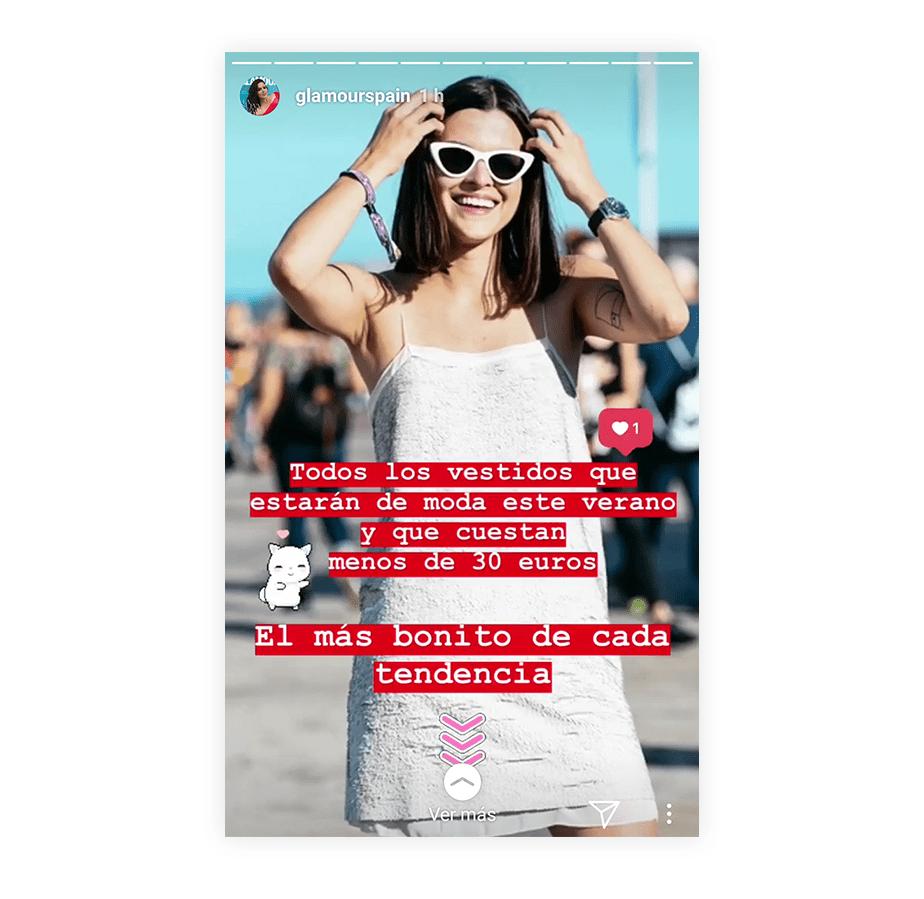 Agrega CTAs a tus Instagram Stories