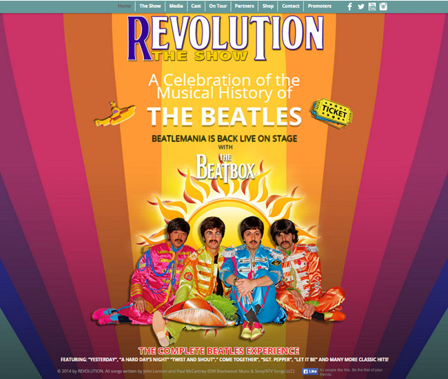 Revolution The Show - Beatlemania Back on the Stage