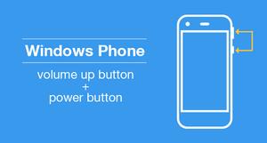 windows phone how to take screenshot