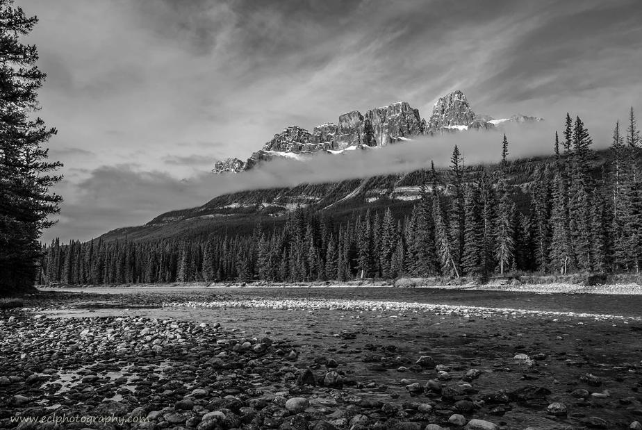 Castle Mountain, Canadá por Emilio I. Carballido