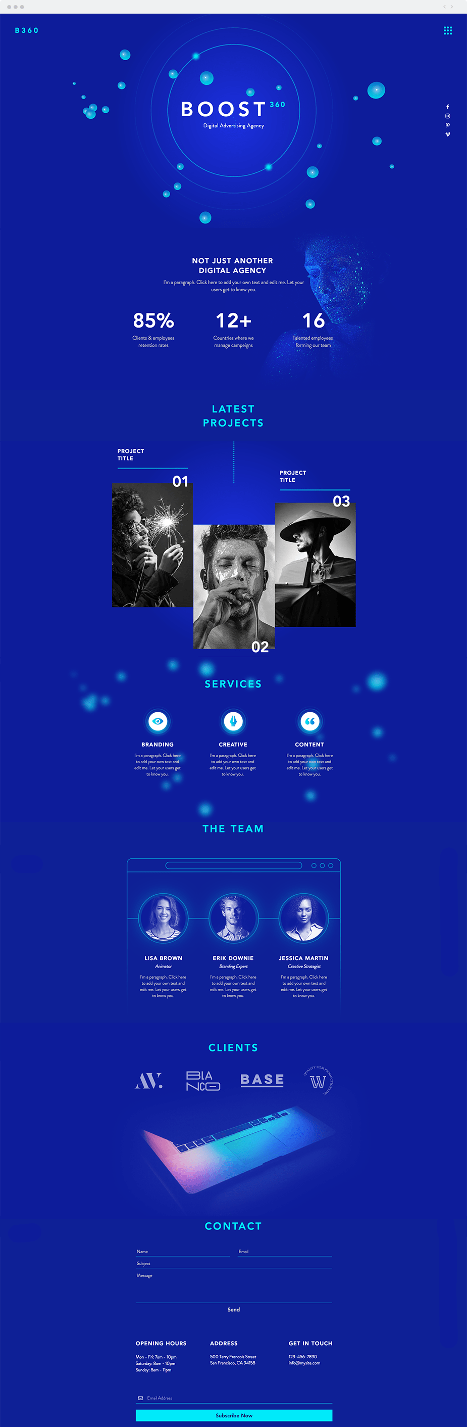 Web design trends of 2018 - Break the (layout) rules