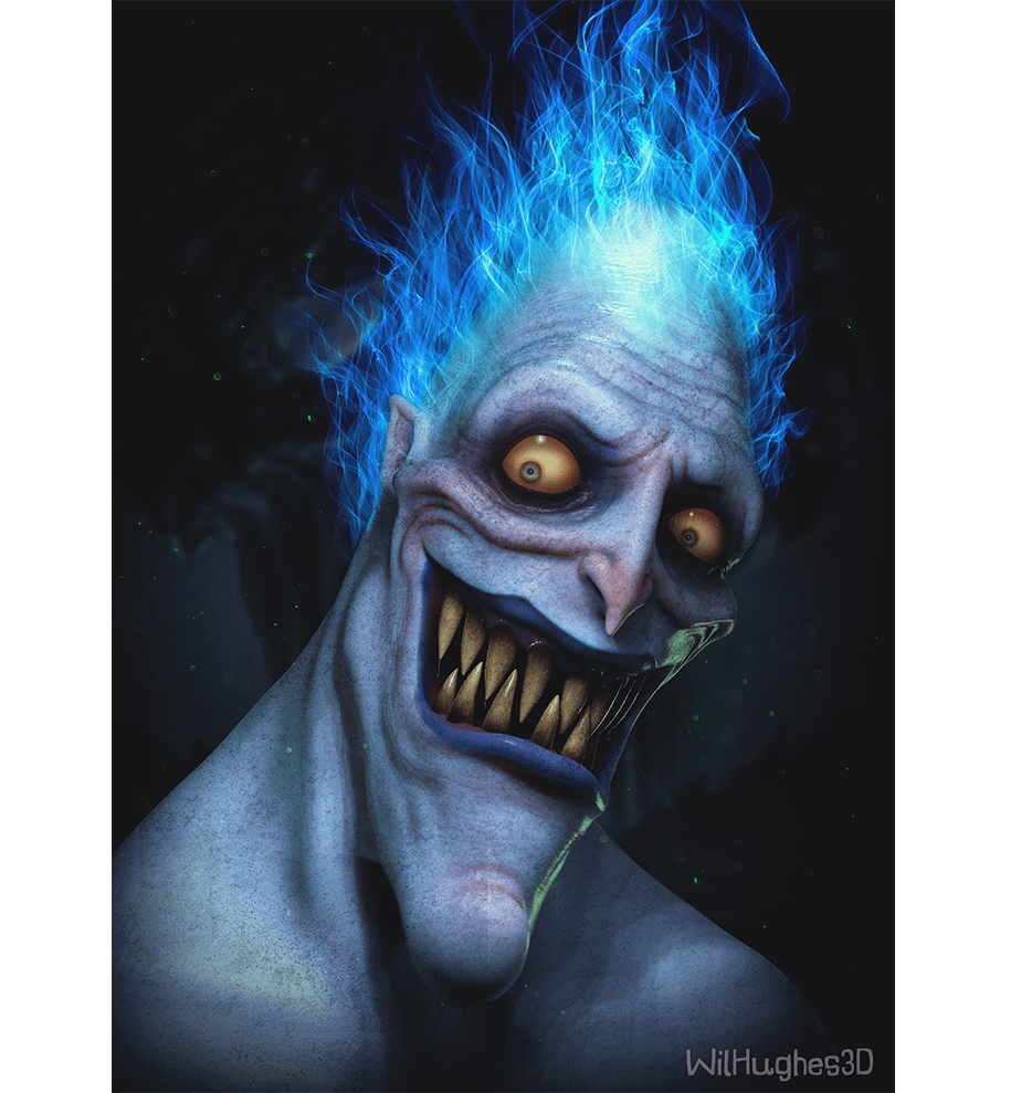 Horror Version of Hades by Wix User Wil Hughes