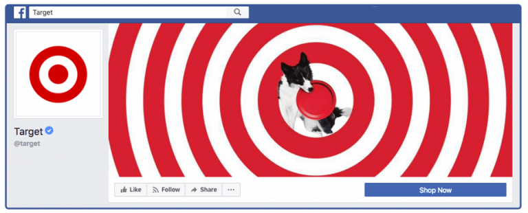 Target Facebook Cover Photo