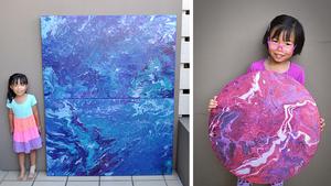 Esses 10 Artistas Wix Incríveis Viralizaram Pelo Mundo: Cassie Swirls