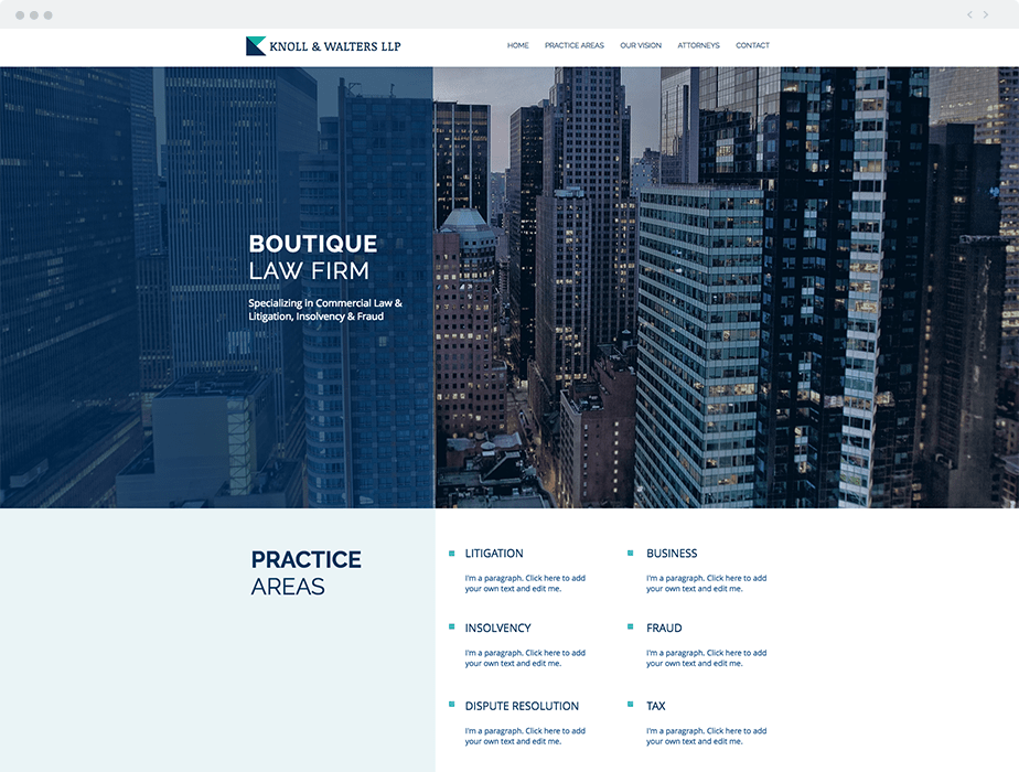 Boutique Law Firm