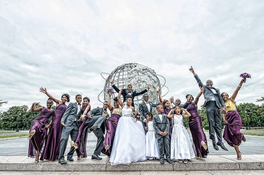 Family Photo after wedding by Wix photographer Windau Photography