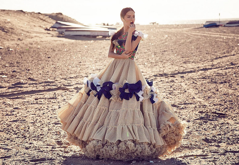 Photo Shoot of Flamenco DanWhite Dress by Wix Photographer Carlos Villarejo