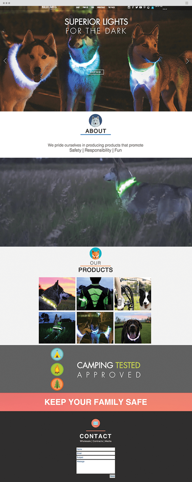 Halo Lights Company