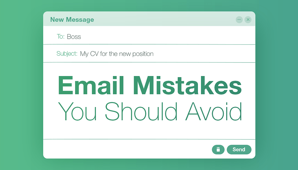 10 Mistakes to Avoid When Writing an Email