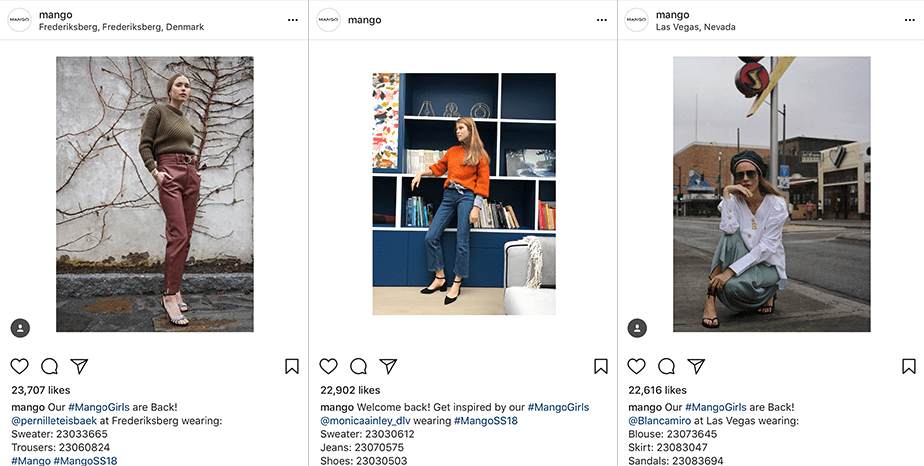 User Generated Content - an Instagram trend