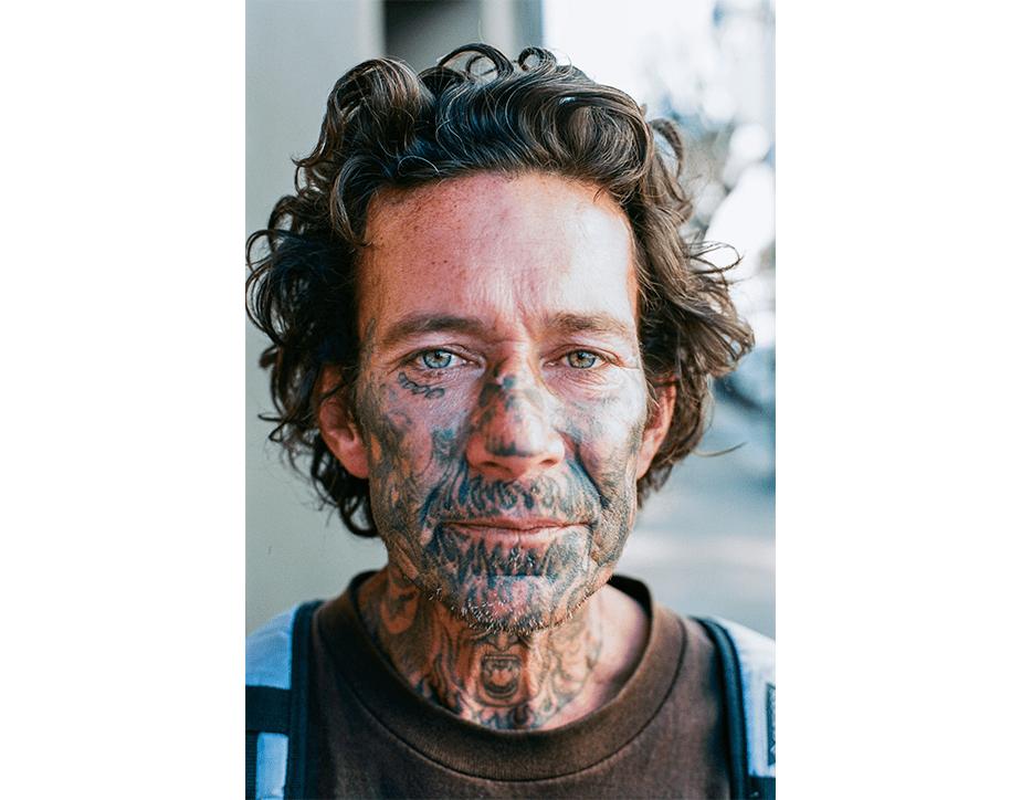 Street portrait photography by Wix photographer, Tony Salvagio