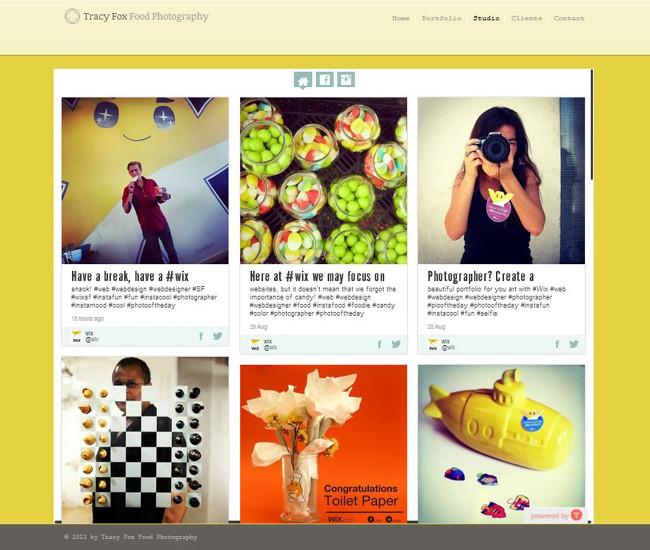 Tintアプリの美しいインターフェイス