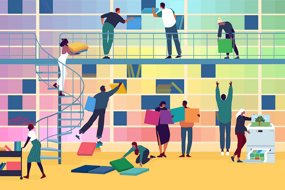 Best free color palette generator illustration by Alice Mollon