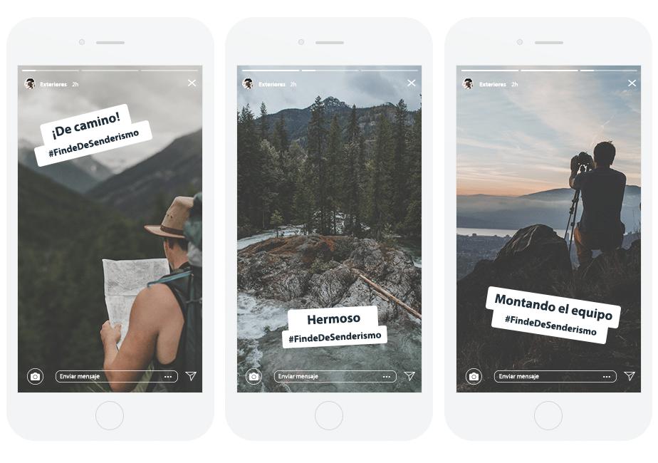 Crea historias de Instagram