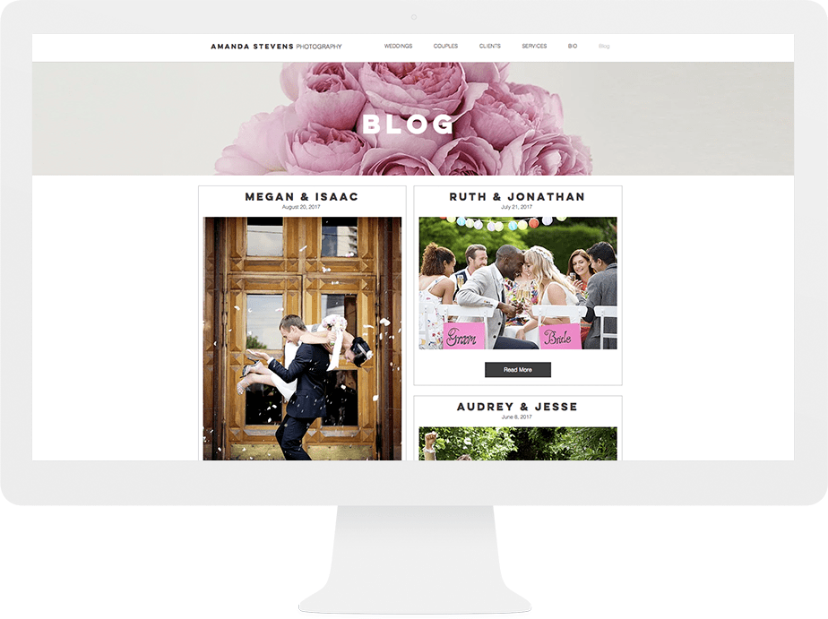 Invest in a blog for your photography website