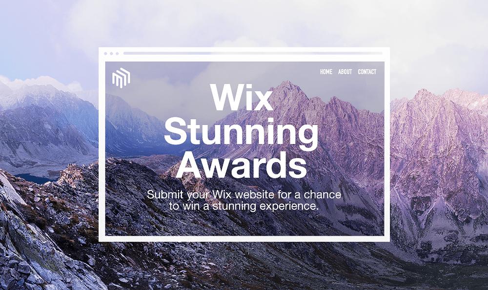 Introducing: The Wix Stunning Awards