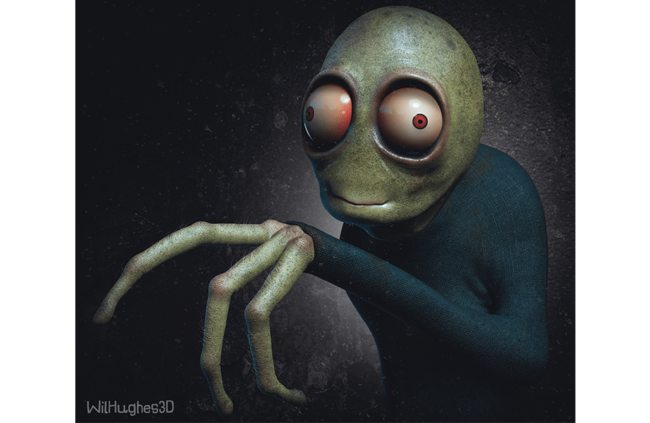 Horror Version of Salad Fingers by Wix User Wil Hughes