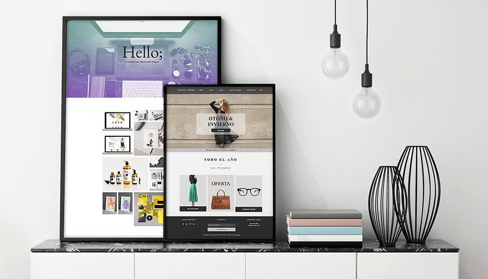 10 Plantillas web gratuitas con un diseño inspirador