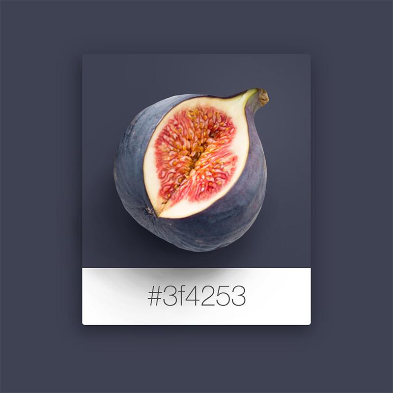 Wix Pinterest color inspiration: fig