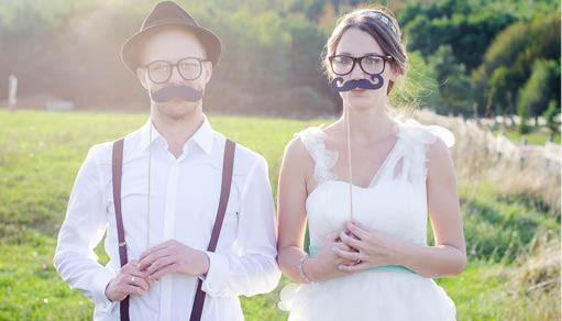 Showcase of Beautiful Wedding Websites for Valentine's