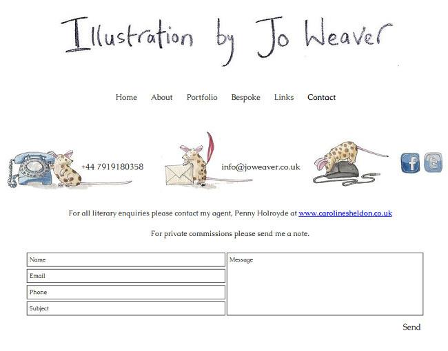 Jo Weaver Illustration >>