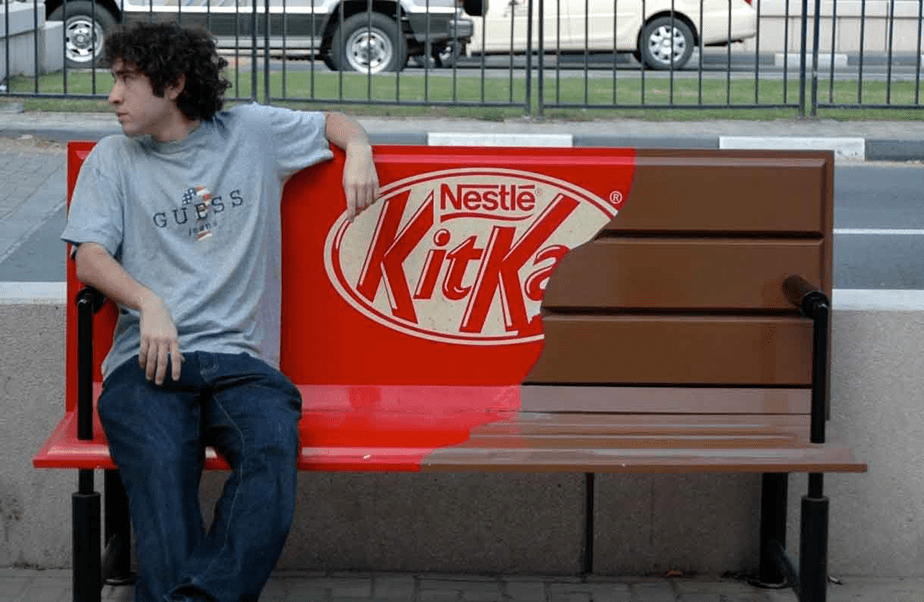 Marketing de Guerrilha: KitKat