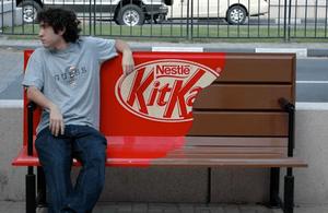 Marketing de Guerrilha: KitKat