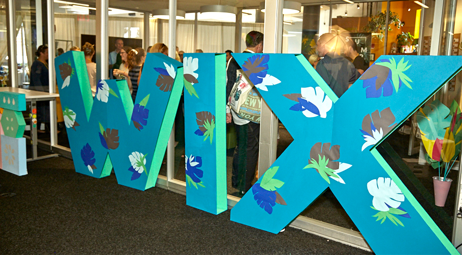Office Art - Tropical Wix Sign