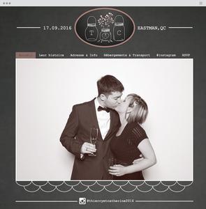 O Lindo Site Bilíngue de Thierry & Catherine