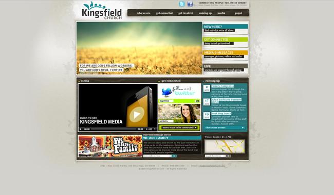 Sitio de la Kingsfield Church