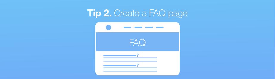 Voice search tip: Create a FAQ page