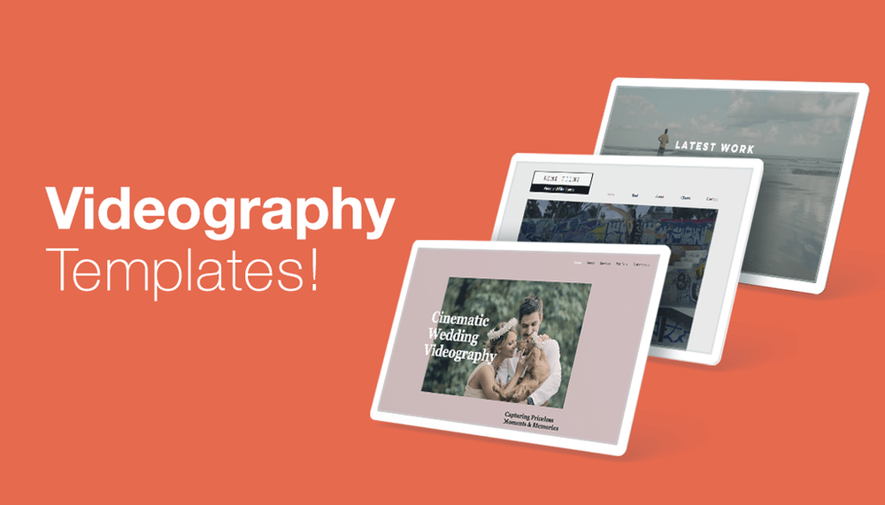 7 outstanding videographer website templates for all styles
