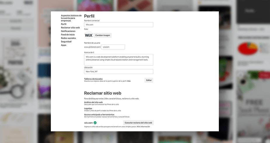 Cómo crear una cuenta para negocios en Pinterest