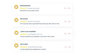 Opiniones de usuarios
