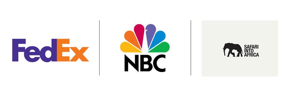 Tendências para Logos que Vão Transformar a sua Marca: Espaço negativo